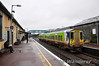 2724 + 2715 at Ennis after arriving with the 1235 from Limerick. 2011 wasn't a good year for the 2700 Class with plans to store them in 2012, being replaced with 2800 Class displaced from Drogheda by the new 22000 Class Intercity DMU's. Sat 31.12.11