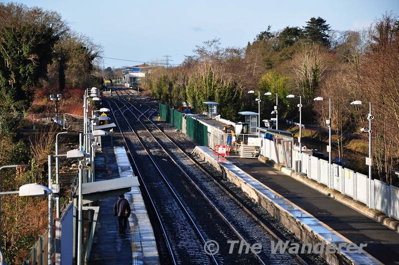 The new bay platform at Clonsilla for M3 Parkway Shuttles is coming along nicely. Sat 17.12.11