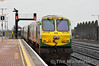 215 has made a return to top link passenger work after spending most of 2011 on the IWT Liner Trains. It is pictured leaving Limerick Jct with the 1430 Cork - Heuston service. Mon 31.12.11