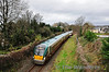 22021 is about to pass under Dennehy's Bohereen Bridge, Killarney with the 1515 Tralee - Mallow. Sat 10.12.11