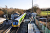 29029 departs Clonsilla with the 1140 Maynooth - Pearse. Sat 17.12.11