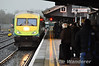 4003 arrives at Limerick Jct with the 1430 Cork - Heuston Intercity Service. Sat 31.12.11