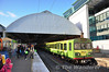 8134 departs Pearse with the 1315 Howth - Bray DART Service. Sat 17.12.11