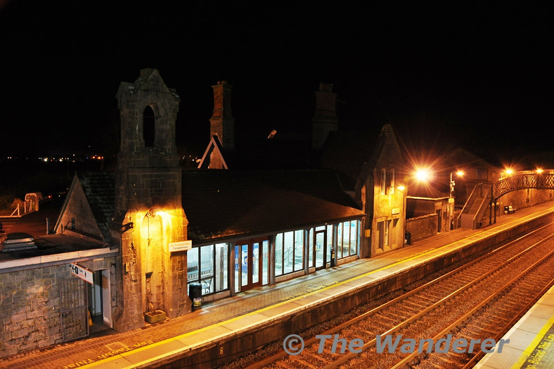Templemore Station at night. Wed 21.12.11