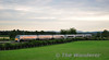 The early running 2150 Heuston - Laois Train Care Depot formed of 22025 + 22028 passes Cherryville. Tues 12.07.11