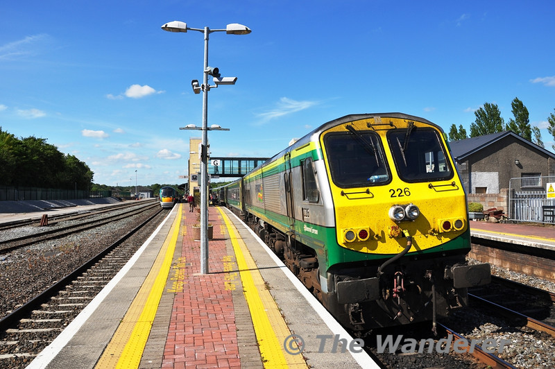 226 at the business end of the 1630 Cork - Heuston at Mallow. Sat 02.07.11