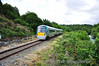 22030 passes Yellow Quarry near Killarney with the 1330 Mallow - Tralee. Sat 18.06.11