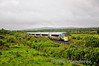 The only direct service of the day to Dublin, the 0720 from Tralee passes Stagmount near Rathmore with Premier Class Unit 22040. Sat 18.06.11