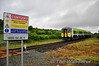 The 0630 Cork - Tralee formed of unit 2605 + 2616 passes Stagmount Level Crossing between Rathmore and Killarney. Sat 18.06.11