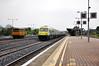 The 1430 Cork - Heuston passes through Limerick Junction.  Sun 01.05.11