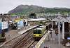 8539 + 8540 + 8537 + 8538 are about to depart Bray with the 1255 to Howth, while 8128 + 8137 + 8133 have just arrived with the 1145 Howth - Bray. Sat 21.05.11