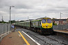 232 0900 Heuston - Cork passes Sallins at speed. Sat 21.05.11