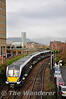 4001 arrives at Belfast Central with the 1157 from Larne Harbour. Mon 21.11.11
