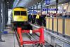 Passengers leave the 0505 Cork - Heuston at its destination. Mon 21.11.11