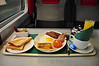The Enterprise Breakfast on board the 0935 Dublin Connolly - Belfast Central. Mon 21.11.11