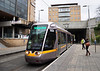 5020 arrives at Balally with a LUAS Green Line service to St. Stephen's Green. Thurs 17.11.11