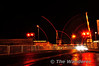 The level crossing barriers at Moira lower to allow the 1720 Bangor - Portadown pass. Mon 21.11.11