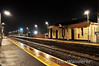 Moira Station at night. Mon 21.11.11