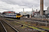 8458 at Belfast York Road Depot. Sun 25.09.11