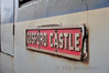 The Gosford Castle nameplate on 8456. Sun 25.09.11