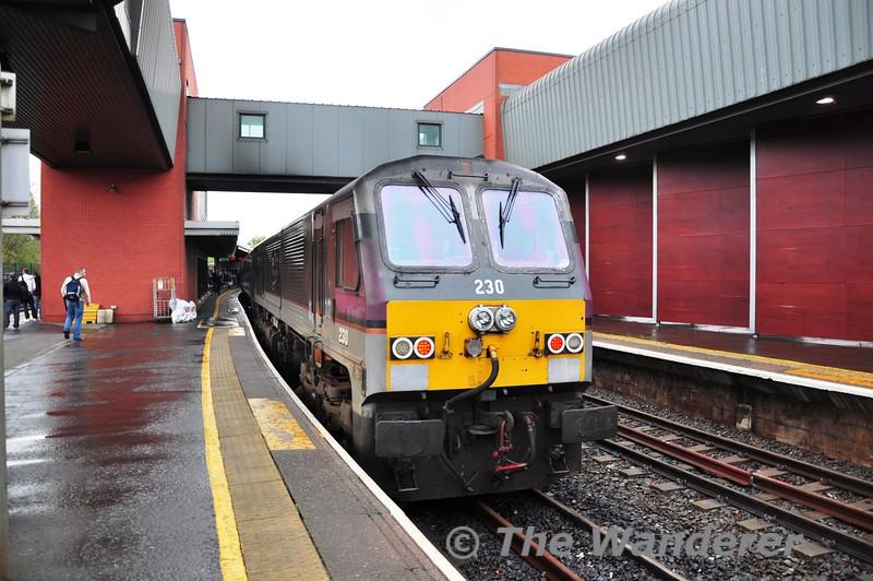230 1900 Belfast Central - Dublin Connolly. Sun 25.09.11