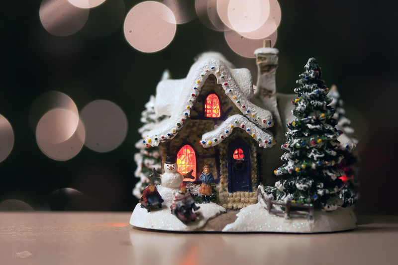 christmas town toy