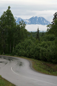 Mt. Mckinley Covered in Clouds