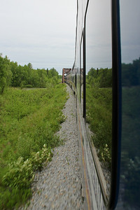 Domed Train Ride to Talkeetna