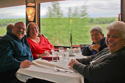 Dining Car - Domed Train