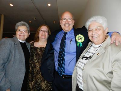 Pat, Carole, Phil & Marie
