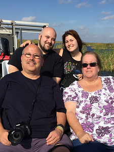 All of us on  the Airboat