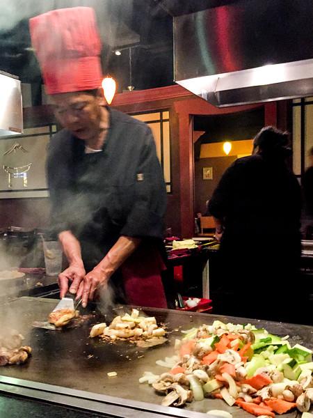 Dinner @ Kiku Japanese Steakhouse