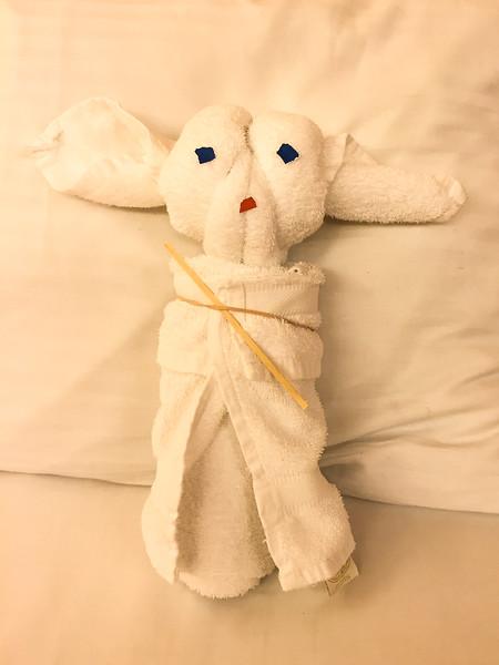 Towel Animal - Voodoo Doll?