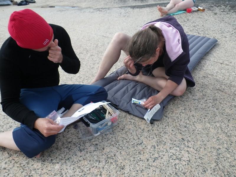 Håkan och Anna punkafixar madrass