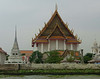 A Wat seen from the river ferry
