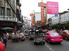 Traffic is a nightmare, a typical shot on Sunday in Chinatown