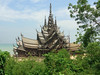 Sanctuary of Truth, wooden temple.
