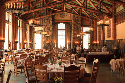 The Ahwanee Hotel dining room, where we'll have Sunday Brunch on the NEW REI Yosemite Lodge Based Trips in 2012.
