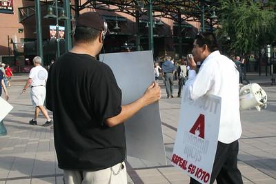 05-20-2011 D-Backs Protest