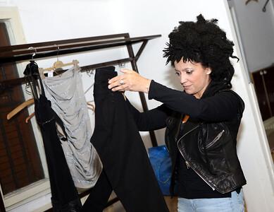 Zkouška šatů...