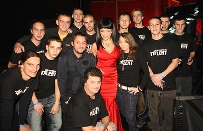 2011-11-13 Semifinale talent 2 - Lucie Bila