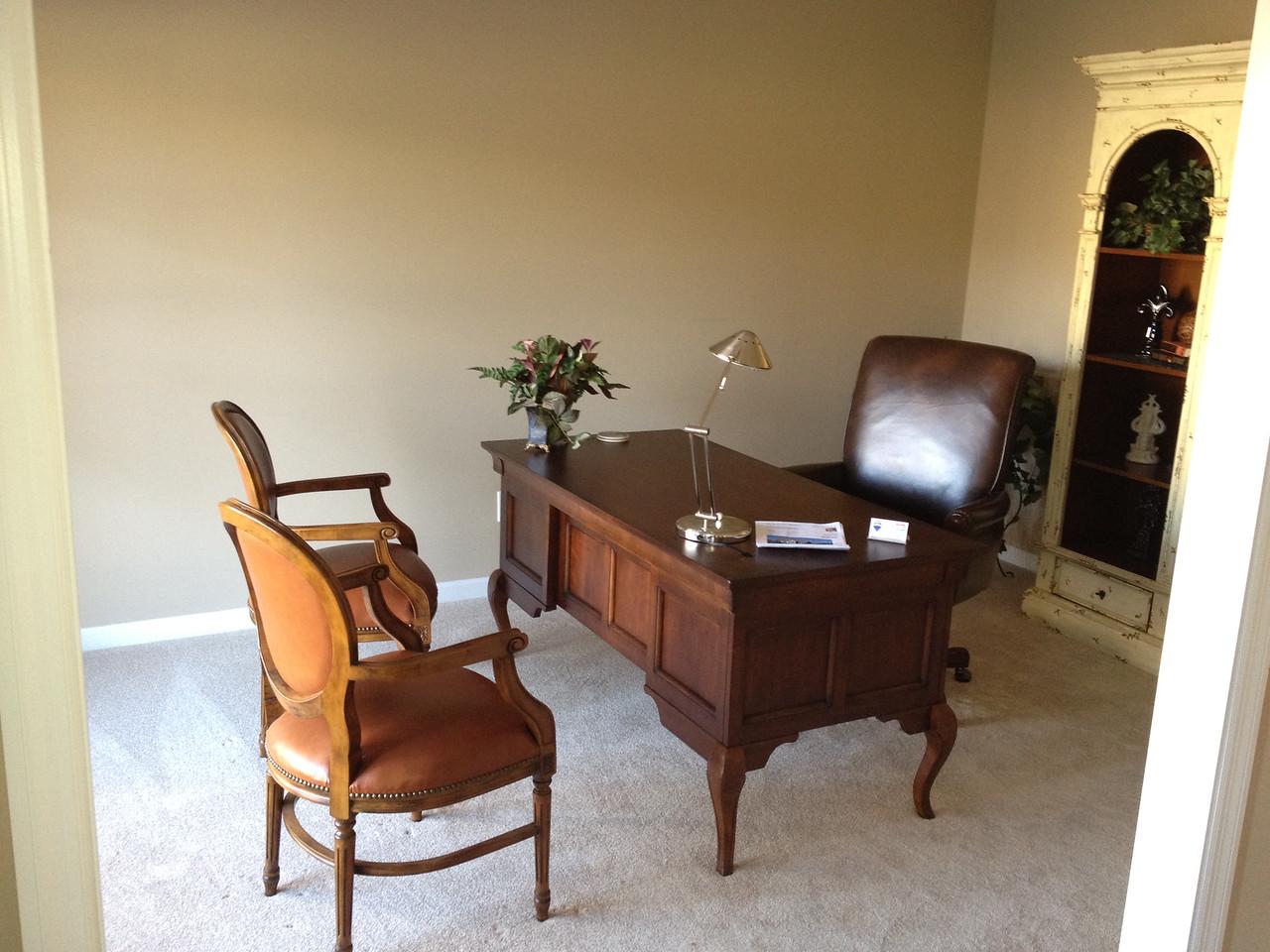 Office on main level