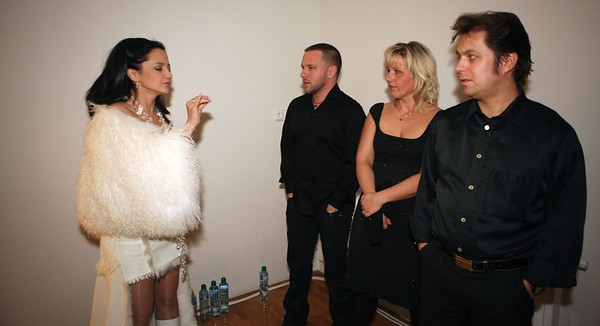 2011-12-17 Bile Vanoce Zarosice - Lucie Bila