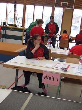 20.02.2011 - Hallenmeisterschaft A-Kampfrichterin