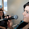Annie Thatcher sings with Dawn Beaudreau on piano. Thatcher is a music student at Dawn Boudreau's music studio and will be competeing this saturday in PG's Got Talent. Citizen photo by Brent Braaten