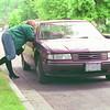 Hooker Decoy/Saturday Brent Braaten-June 21/2001  A police officer as a hooker decoy. For story by Karen.