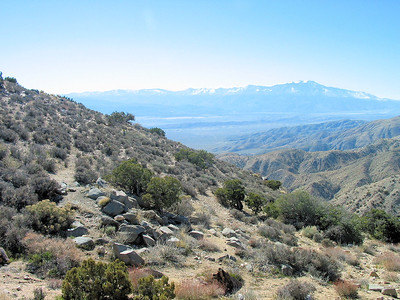 Looking South from Keys View.