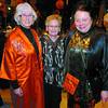 Shirley Gratton, Laura Sandberg, and Valerie Giles, in their Chinese New Year's outfits. Citizen photo by David Mah