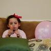 Violeta Enjoying Some Thin Mints