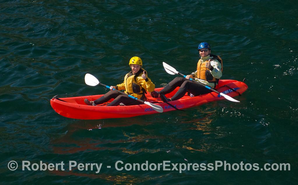 kayaks 2011 05-01 Sta Cruz Island b - 091
